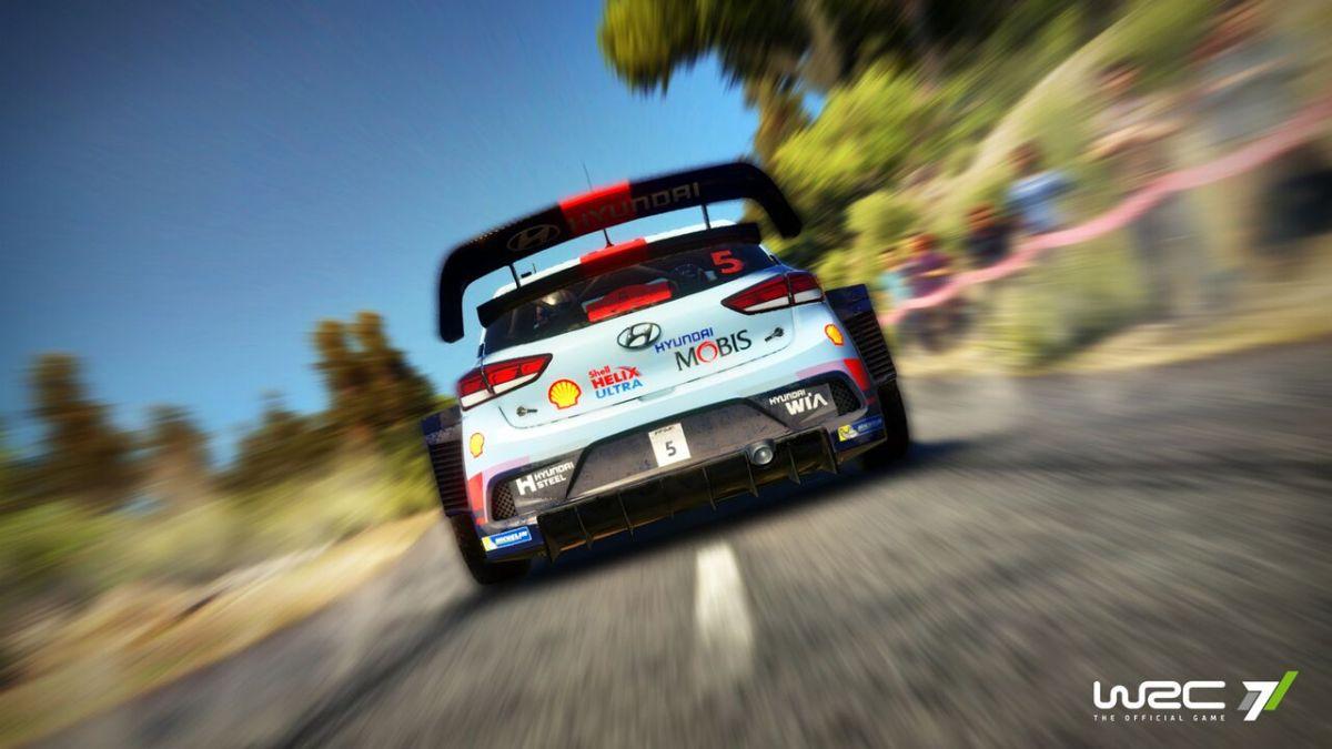 WRC 7  la physique de jeu se montre en vidéo