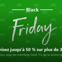 Microsoft nous régale avec le Black Friday sur Xbox One